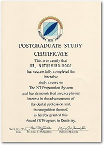 study course on the NT preparation system